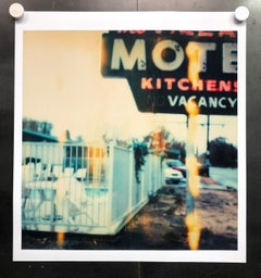 Village Motel - Contemporary, Landscape, Urban, expired, Polaroid, analog
