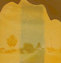 Wabi-Sabi (Sidewinder) - Polaroid, Contemporary, 21st Cenrury, Landscape, Color