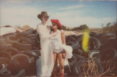 Wedding Day I (Till Death do us Part) - Polaroid, Contemporary, Love, Women