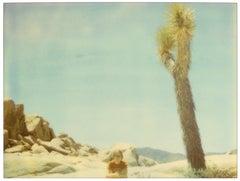 White Tank (Private Travel Diary), analog, based on a Polaroid