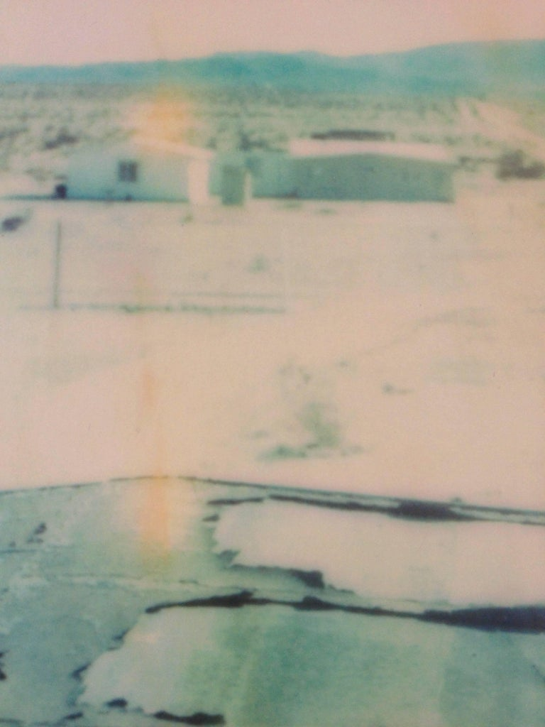 Wonder Valley View, 21st Century, Polaroid, Figurative Photography, Contemporary For Sale 1