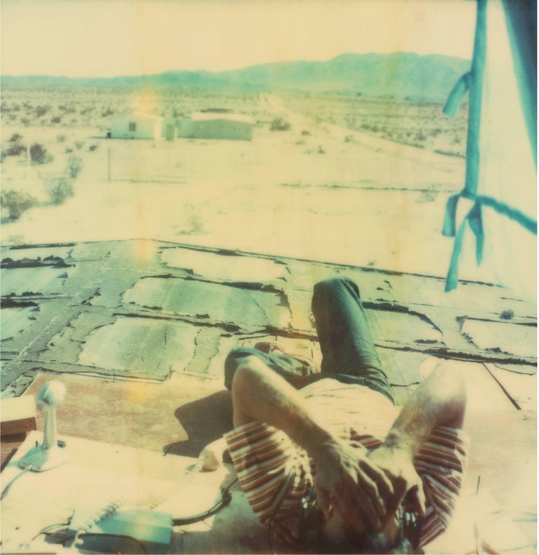 Wonder Valley View, 21st Century, Polaroid, Figurative Photography, Contemporary For Sale 3