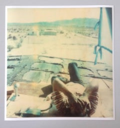 Wonder Valley View, 21st Century, Polaroid, Figurative Photography, Contemporary