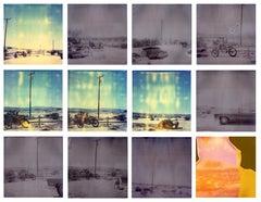 Wonder Valley Ways (Sidewinder) - Polaroid, Contemporary, 21st Century, Landscap