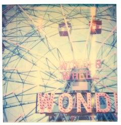 Wonder Wheel,  Contemporary, 21st Century, Polaroid, Landscape Photography