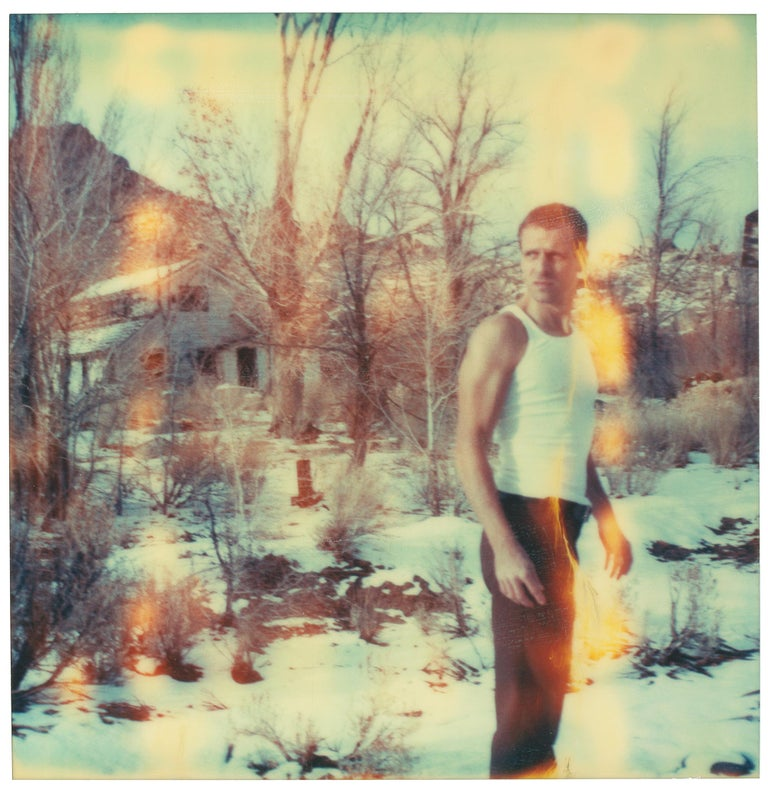 Stefanie Schneider Color Photograph - Young and Unaccountable (Wastelands) - Contemporary, Analog, Polaroid, Color