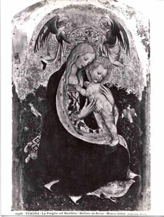 The Virgin with the Child by Stefano da Zevio - Early 20th Century