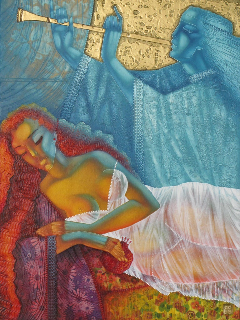 Stefano Georges Figurative Painting - Dream's Angel