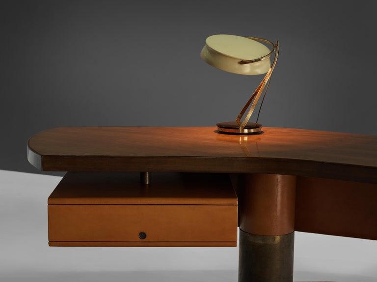 Stefano Mastuzzi Boomerang Desk 'Zero' in Walnut 5