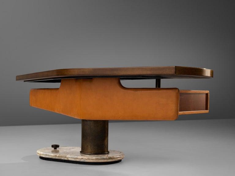 Stefano Mastuzzi Boomerang Desk 'Zero' in Walnut 2