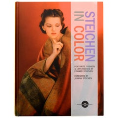 Steichen in Color Portraits, Fashion & Experiments by Edward Steichen, 1st Ed