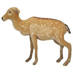 """Steiff Mohair Elk """"Studio Animal"""" from the 1960s"""