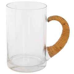 Stein with Cane Wrapped Handle