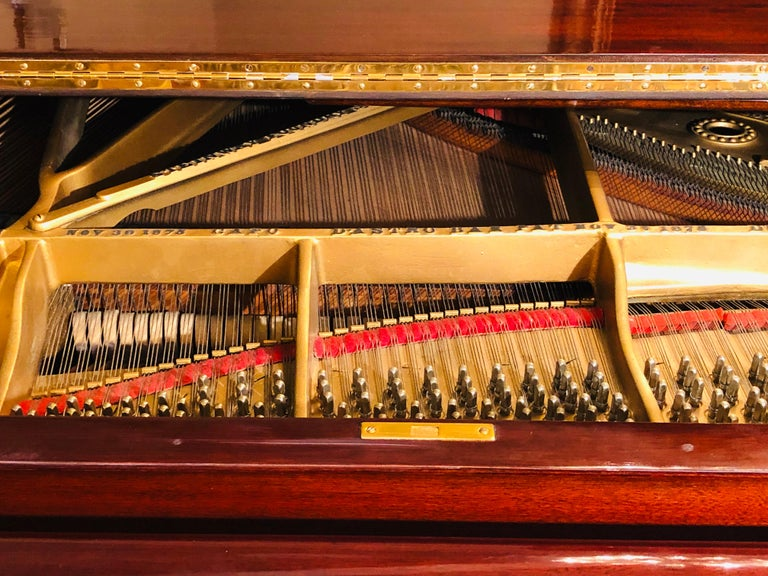 Steinway Model B Classic Grand Piano 1901 in a Refinished Mahogany Case For Sale 5