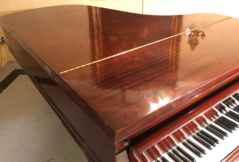 Steinway Model B Classic Grand Piano 1901 in a Refinished Mahogany Case For Sale 9