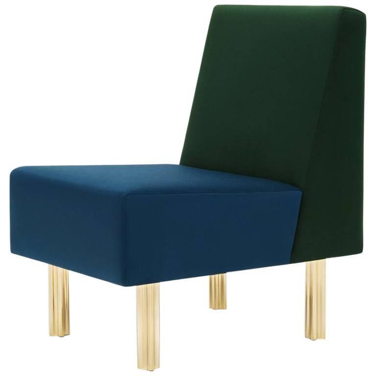 'Stella' Armchair / Fireside Chair 'Art Deco Style' Green ...