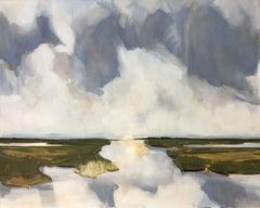 Dutch wetlands, Painting, Oil on Canvas