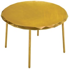 Stella Dining Table Gold by Nika Zupanc for Scarlet Splendour