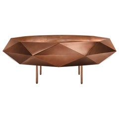 Stella Large Coffee Table Rose Gold by Nika Zupanc