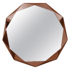 Stella Large Wall Console Mirror Rose Gold by Nika Zupanc