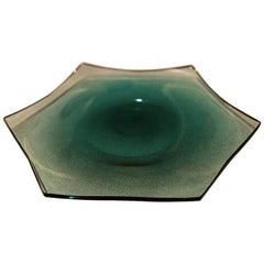 21st Century Alessandro Mendini Large Tray Murano Glass Various Colors.
