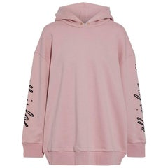 Stella McCartney All Is Love Embroidered French Cotton Terry Hoddie