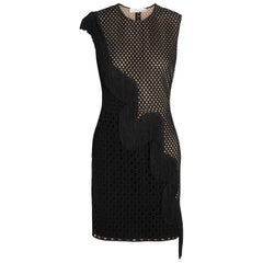 Stella McCartney Asia Fringed Wicker Lace Mini Dress