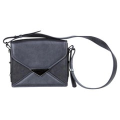 Stella McCartney Black Leather Flap Bag