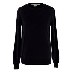 Stella McCartney Black Wool Knit Sweater - Size US 0-2