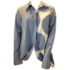 Stella McCartney Blue and White Stripe Blouse