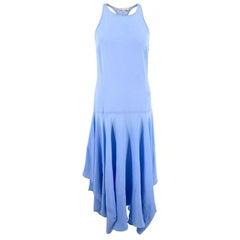 Stella McCartney blue silk dress - Size US 2