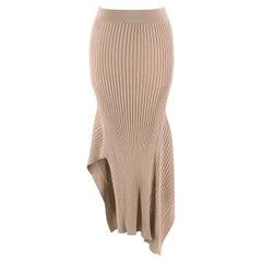 Stella McCartney Brown Knit Set - Long sleeve Top & Skirt 38 IT