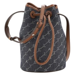 Stella McCartney Bucket Bag Monogram Canvas Mini