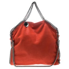 Stella McCartney Coral Faux Leather Small Falabella Tote