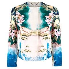 Stella McCartney Cotton Hawaian Print Jacket XS