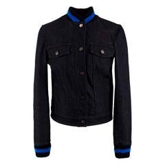 Stella McCartney Dark Wash Denim Jacket SIZE IT 40