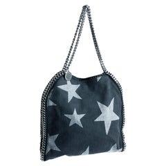 Stella McCartney Denim Star Small Falabella Tote Washed Denim Bag Fall 2016