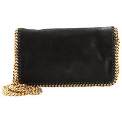 Stella McCartney Falabella Flap Crossbody Bag Shaggy Deer Mini