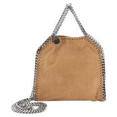 Stella McCartney Falabella Fold Over Crossbody Bag Shaggy Deer Tiny