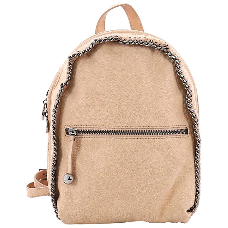 9cde7c6bdc Stella McCartney Falabella Front Zip Backpack Shaggy Deer Mini For Sale at  1stdibs