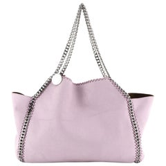 Stella McCartney Falabella Reversible Tote Shaggy Deer Small