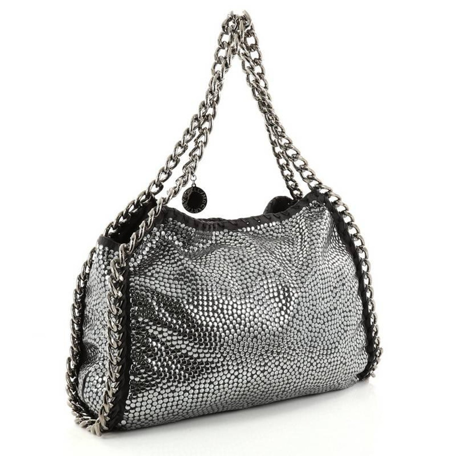 72bce3e903 Stella McCartney Falabella Tote Studded Faux Suede Large at 1stdibs