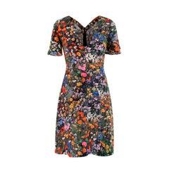 Stella McCartney Floral Print Mini Dress - US 00