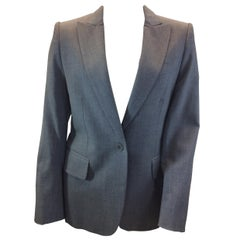 Stella McCartney Grey Wool Jacket