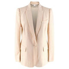 Stella McCartney Light Cream Blazer - Size US 4