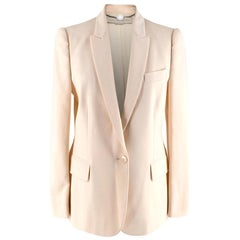 Stella McCartney Light Cream Blazer XS