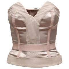 Stella McCartney Light Pink Strapless Bustier Top