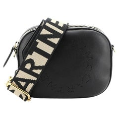 Stella McCartney Logo Bum Bag Perforated Faux Leather