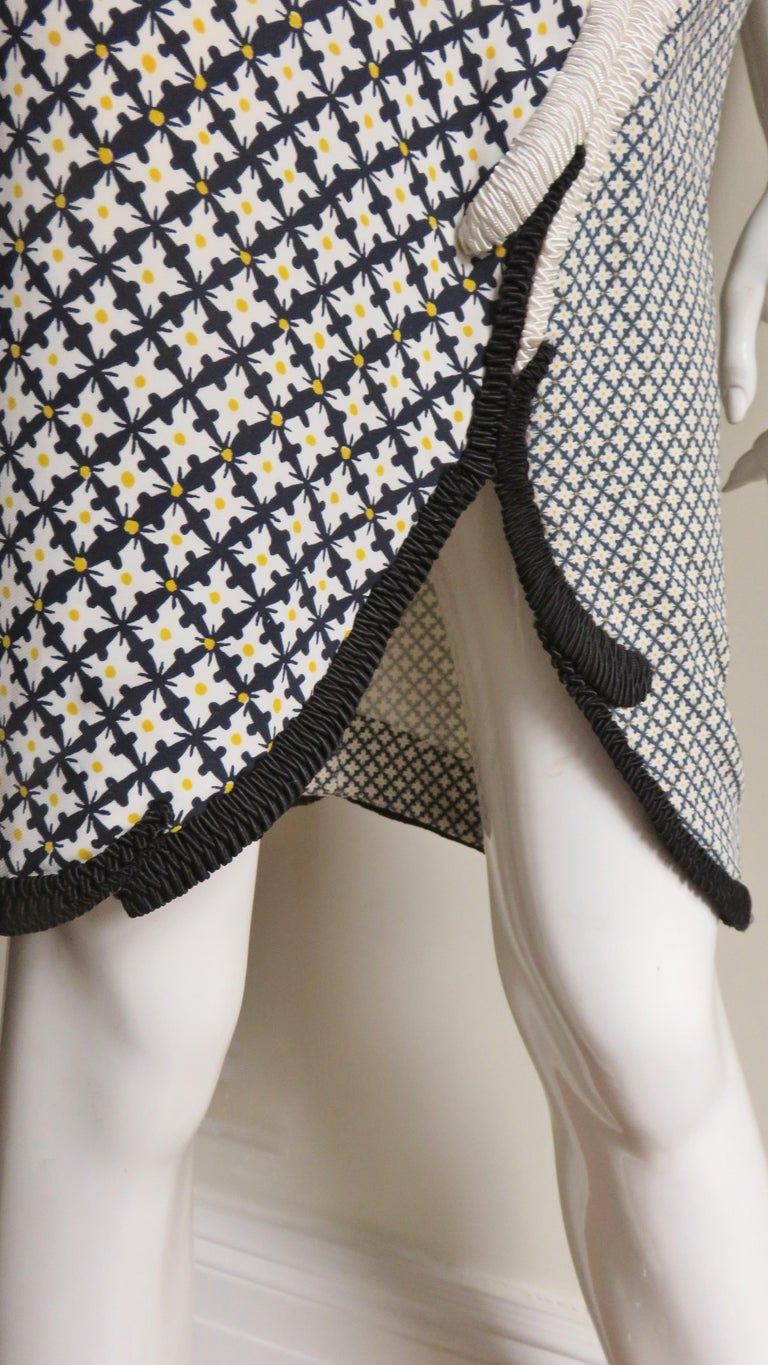 Stella McCartney New Mixed Pattern Cut out Dress For Sale 5