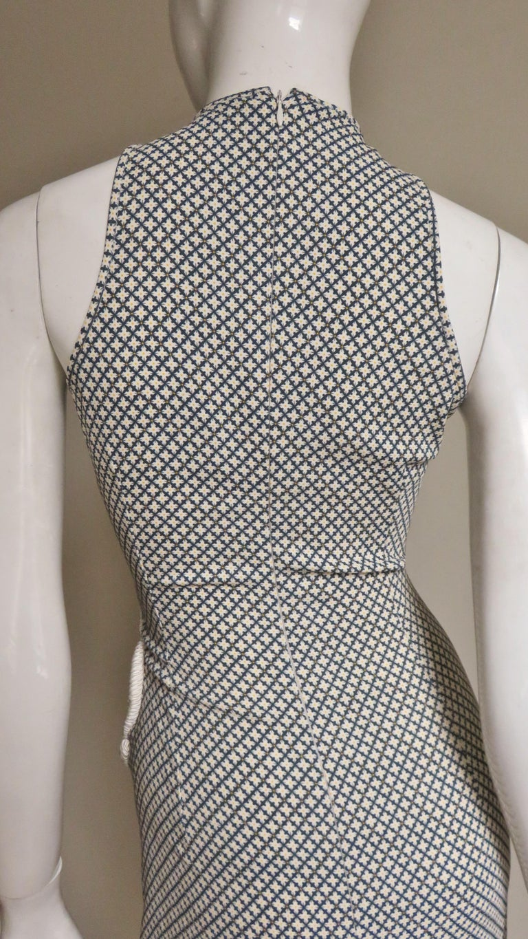 Stella McCartney New Mixed Pattern Cut out Dress For Sale 9